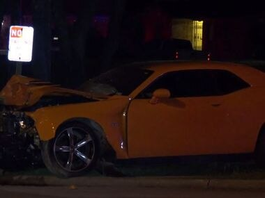 Police determined a Dodge Challenger, Dodge Charger and Ford Mustang had been drag racing when the Challenger struck the rear right side of Chevrolet Impala that was trying to make a left turn from Lake June onto Rain Forest Drive, killing 8-year-old Olivia Mendez, a passenger in the Impala.
