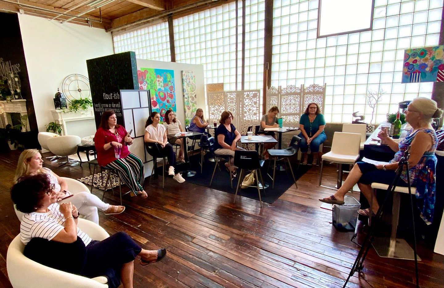 MillHouse in McKinney, a nonprofit that offers co-working spaces for women, is holding its Summer Art Fest this weekend at the Cotton Mill.