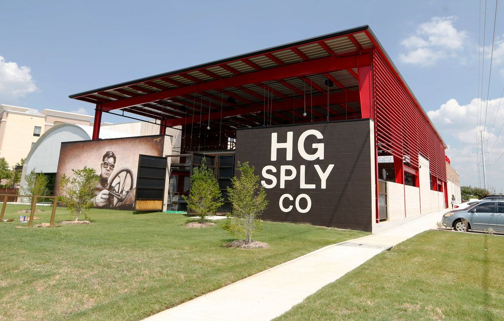 Exterior of HG Sply Co. in Trophy Club, Texas on Thursday, August 15, 2019. (Vernon Bryant/The Dallas Morning News)