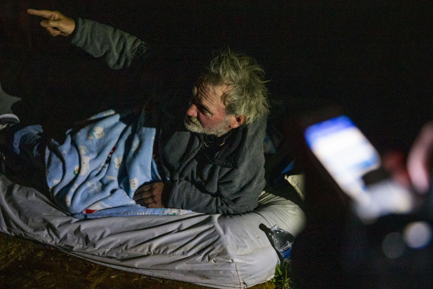 On a Thursday night in January, volunteers from the Oak Lawn United Methodist Church scoured the neighborhood to try to count every homeless person. That night, Chester Ray Corder was found sleeping on a mattress under a staircase outside a dilapidated building.