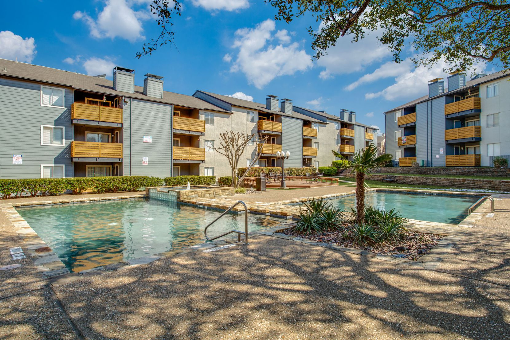 The Apex apartments are on Whitehurst Drive in Lake Highlands.