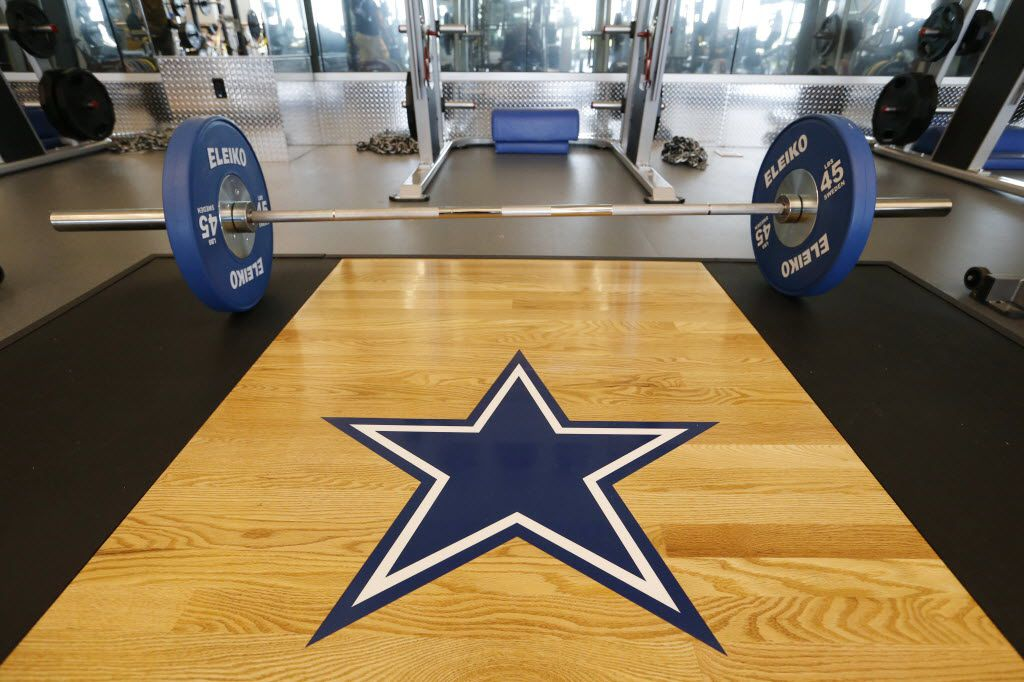 Weight room at the Dallas Cowboys new headquarters at The Star in Frisco on Sunday, August 21, 2016. The Star, is a joint project with the City of Frisco, and Frisco ISD. (Vernon Bryant/The Dallas Morning News)