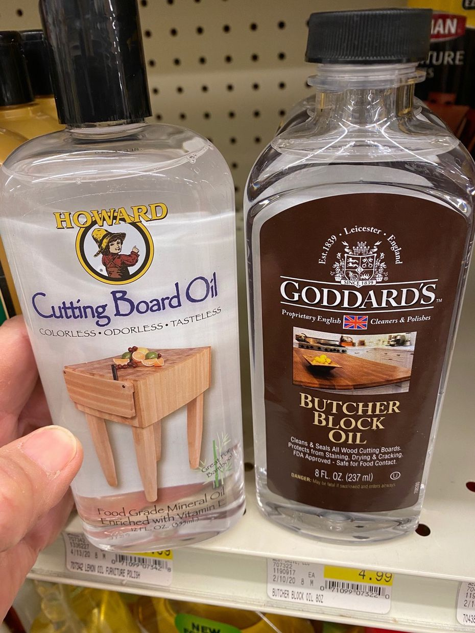 Food-grade mineral oil can be used to treat cutting boards and other bamboo and wooden kitchen utensils.
