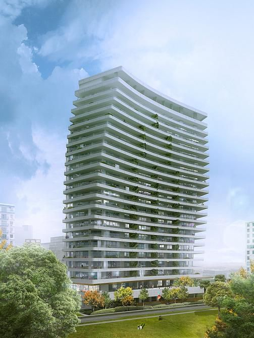 Canadian developer Great Gulf Homes is shooting for an early 2015 groundbreaking for its 22-story condo building at 2505 Turtle Creek Blvd. The 60 units will have huge terraces.