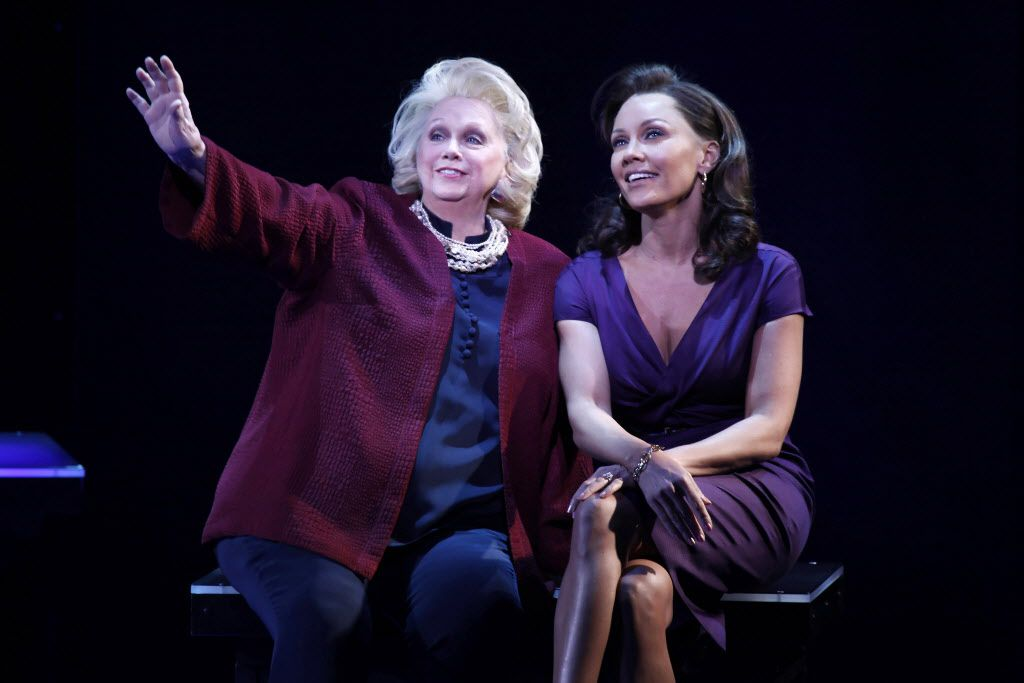 Soprano Barbara Cook (left, with Vanessa Williams) died Aug. 9. (The Associated Press)