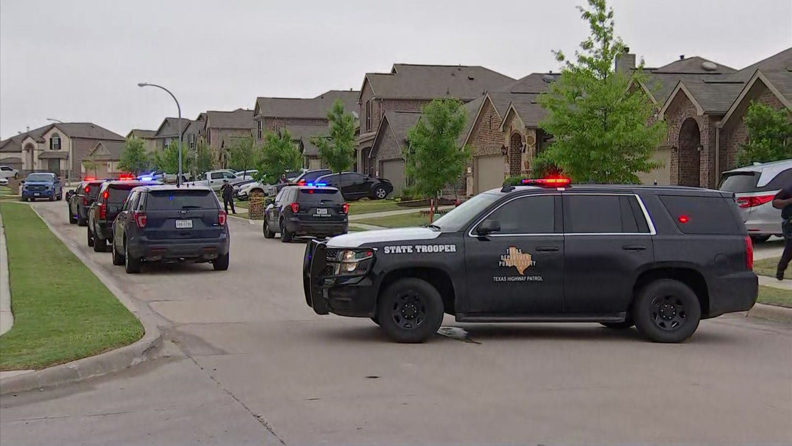 A Department of Public Safety trooper was hospitalized with serious injuries Friday afternoon.