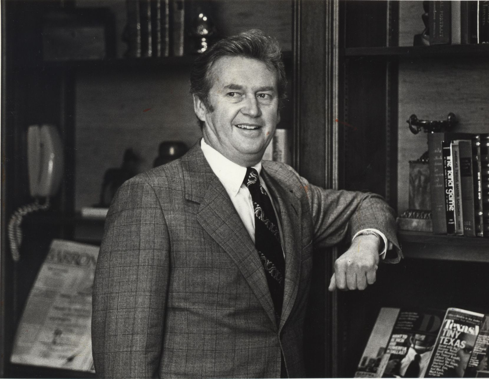 Dallas developer John F. Eulich in 1980.