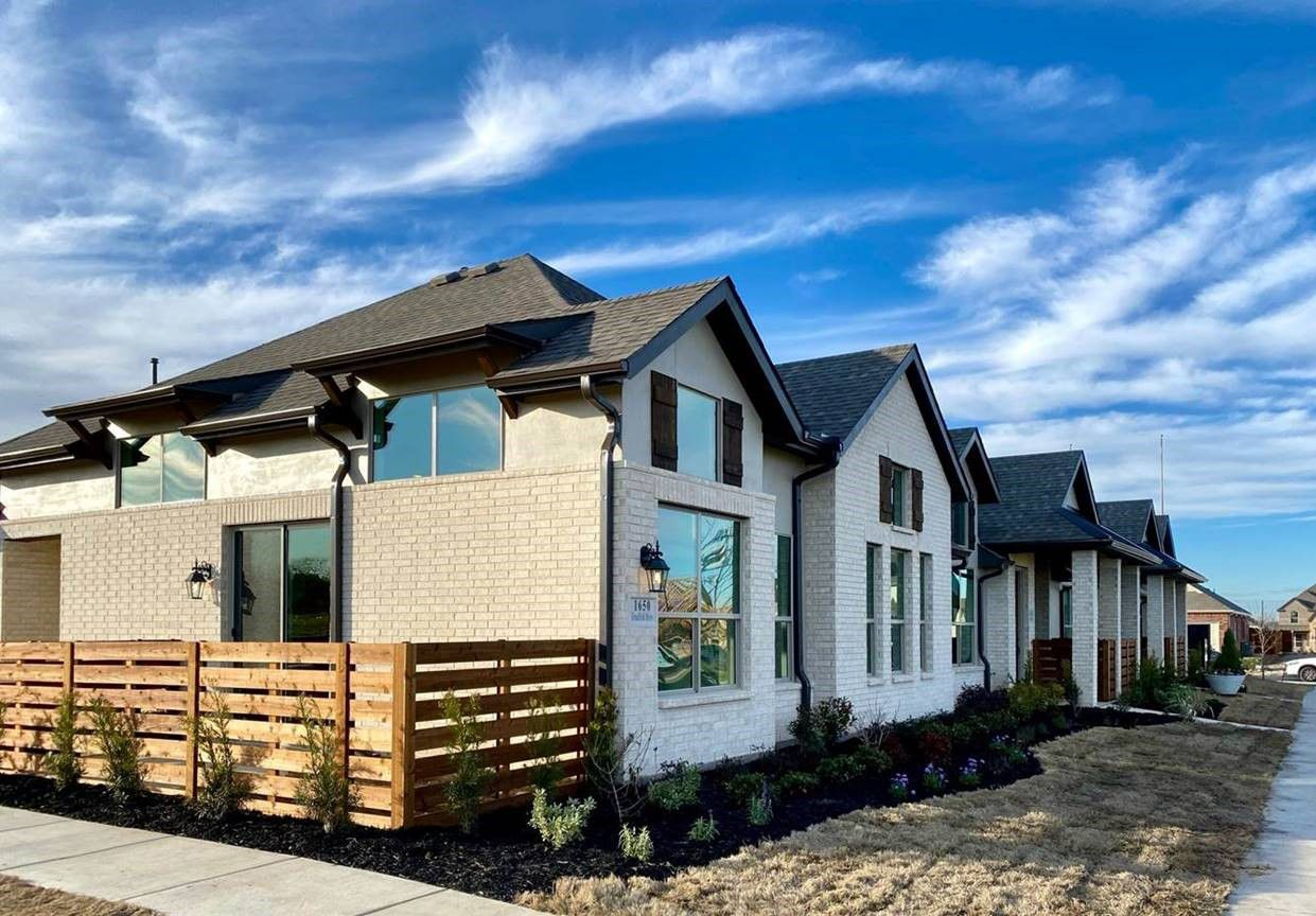 Priced from the upper $200s, Grenadier Homes is building single-story villas in Riverset in Garland.