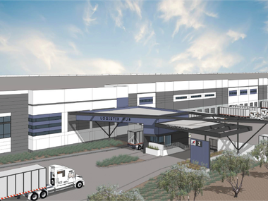 The first phase of the Logistix Hub South Dallas will include more than 2 million square fee.