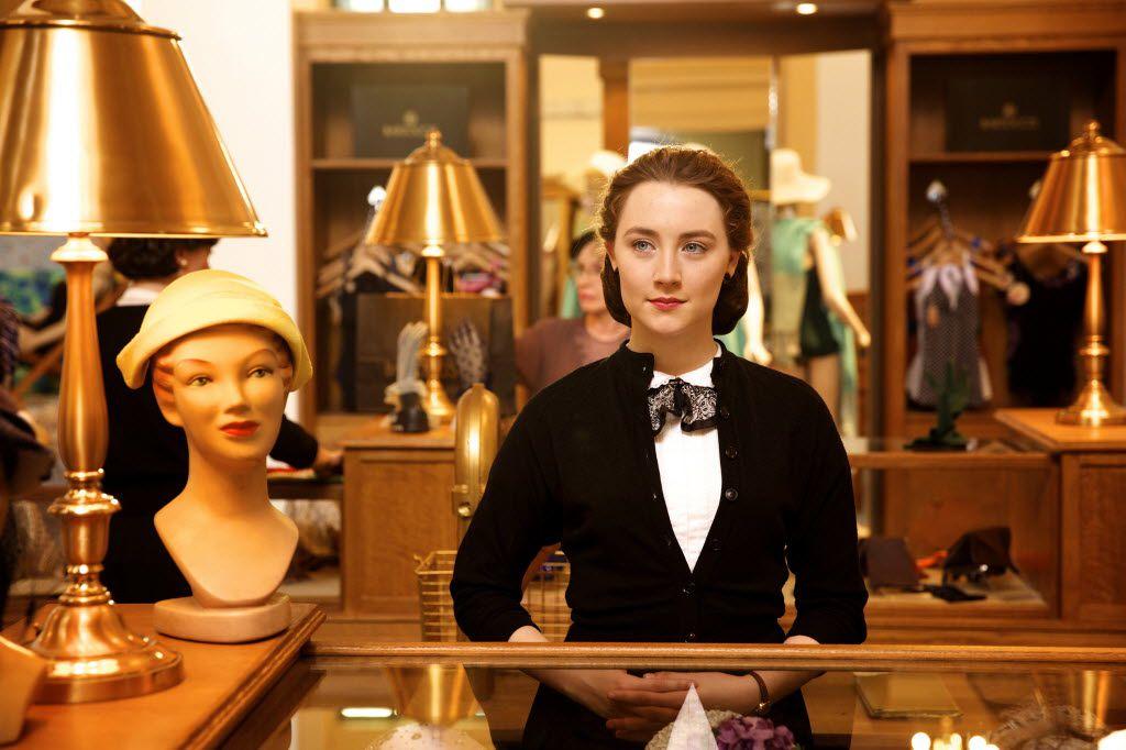 "Saoirse Ronan as Eilis in a scene from the film, ""Brooklyn."""