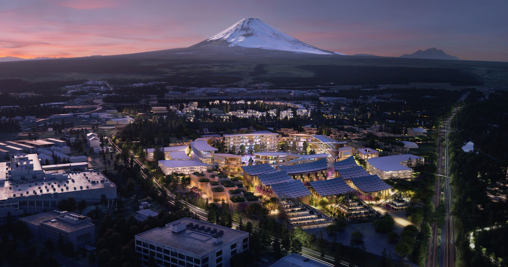 Toyota intends to build a prototype city of the future on a 175-acre site at the base of Mt. Fuji in Japan. It'll feature a fully connected ecosystem powered by hydrogen fuel cells. It also serve as a live laboratory for residents and researchers  to test and develop technologies such as autonomy, robotics, personal mobility, smart homes and artificial intelligence in a real-world environment.