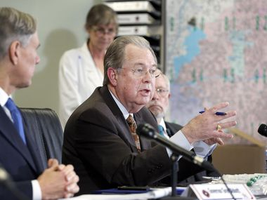 Tarrant County Judge Glen Whitley, pictured in this file photo, announced Tuesday he will not seek reelection.