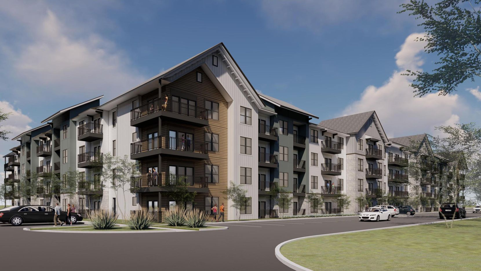 The Jefferson Fossil Creek apartments will have 386 units.