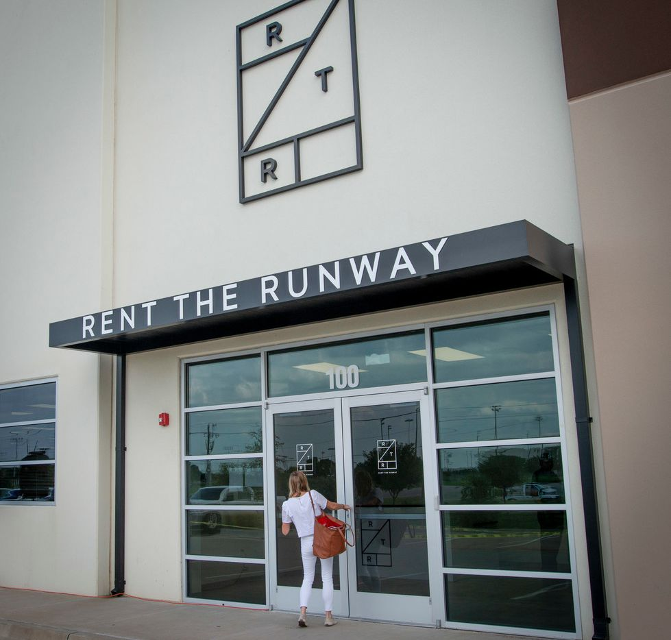 Rent The Runway's new facility in Arlington is shown on July 11.