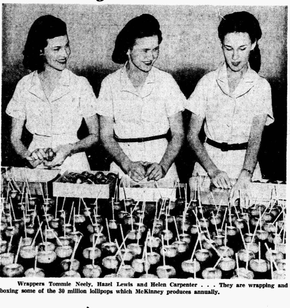 Dallas Morning News clipping published Nov. 9, 1947.