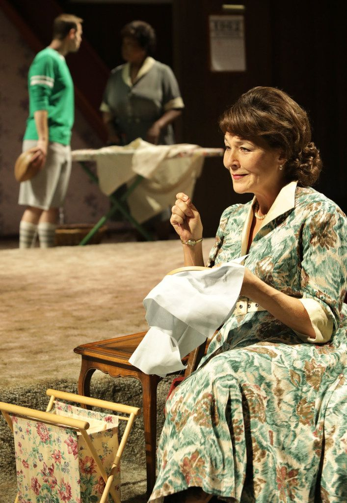 Alex Organ (left) plays Thomas, Liz Mikel plays Doris and Sally Nystuen Vahle (foreground) plays Mildred, the mother of the Miller children.