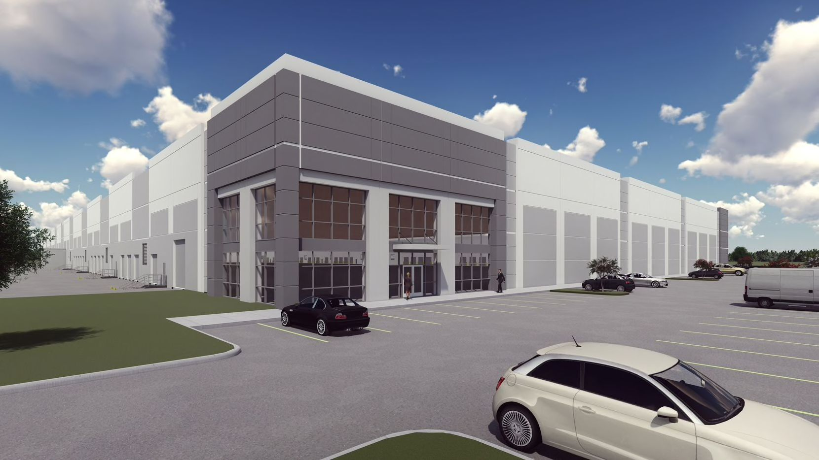 Trammell Crow Co.'s Altamoore Drive business park is south of I-20.