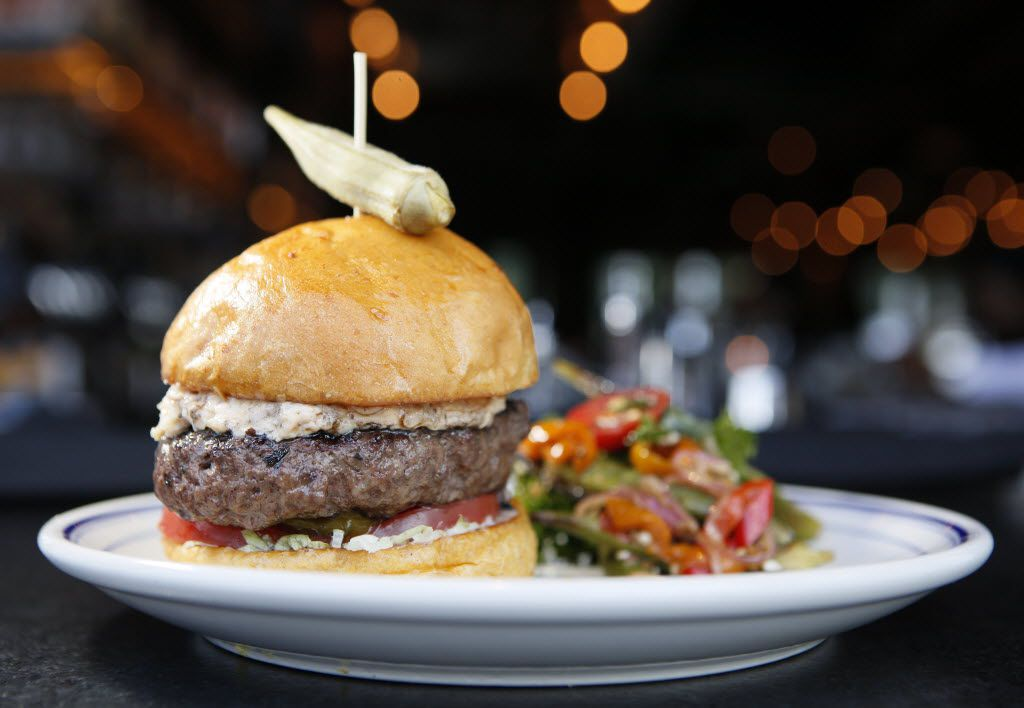 A burger at Ida Claire in Addison. Ben Torres/Special Contributor