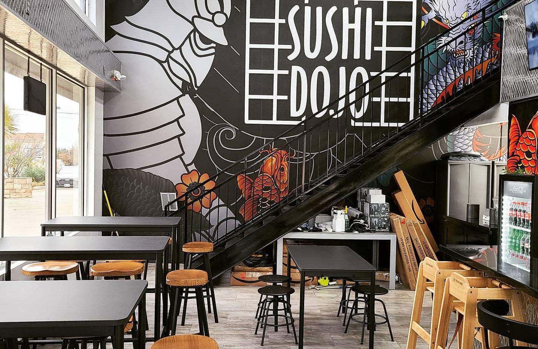 Fast-casual Sushi Dojo will officially open Feb. 3 in the former Frezko Taco Spot in Southlake.