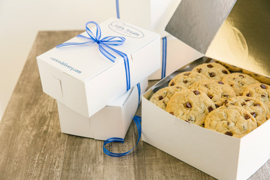 Leon Chen and Tiffany Taylor Chen, co-founders of Tiff's Treats, started the warm cookie company while they were undergrads at the University of Texas at Austin. They are graduates of Richardson's Berkner High School. (Tiff's Treats)