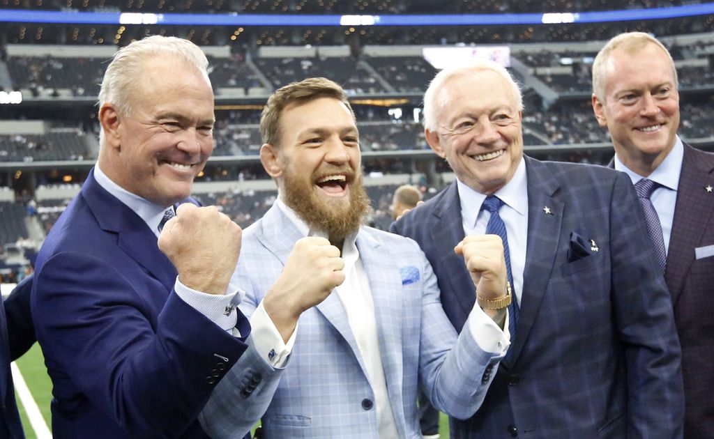 Conor McGregor wants his next UFC fight to take place at AT&T Stadium
