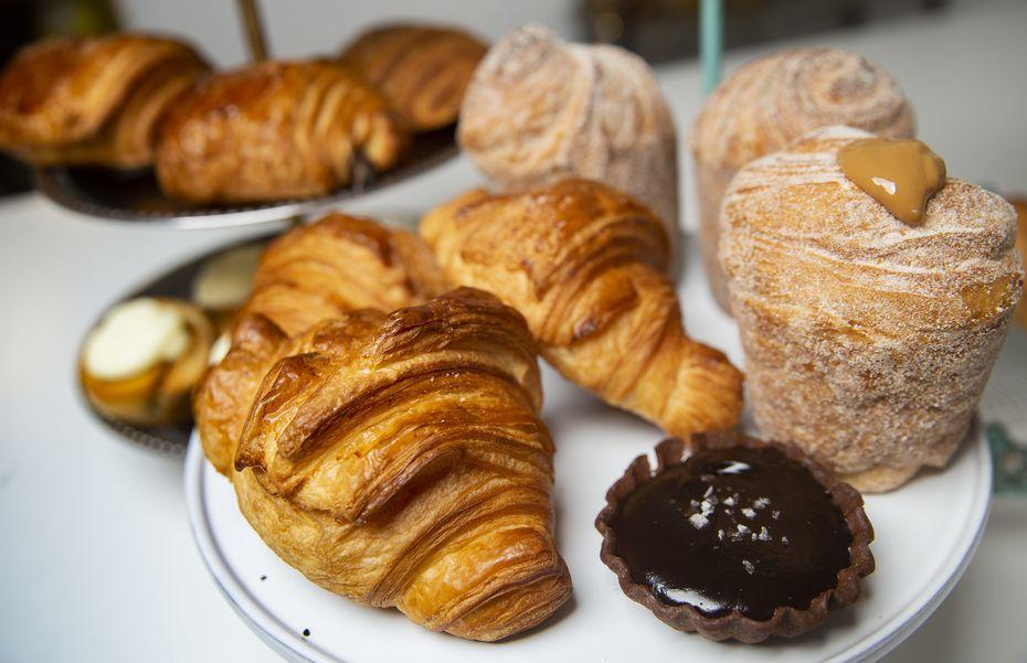La Casita Bakeshop is best known for its croissants.