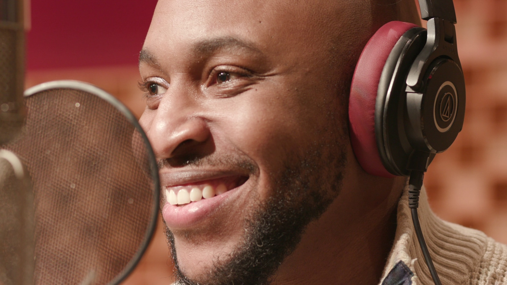 """Jazz pianist and vocalist Aaron Myers, who is originally from Goodlow, Texas, appears in the video version of """"The Pride Album,"""" released last month."""