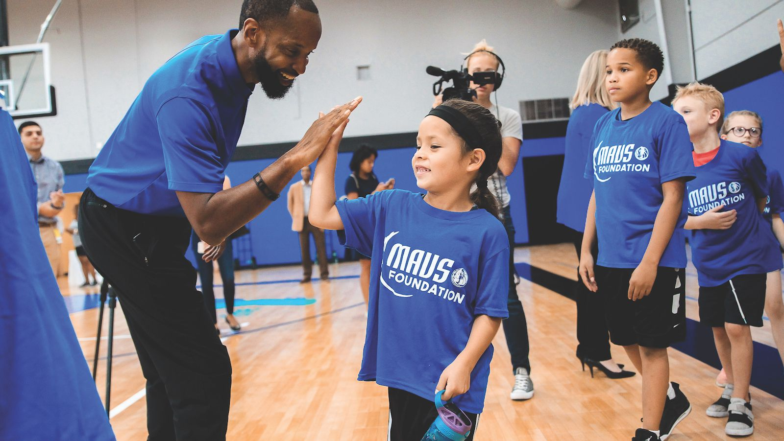 Building basketball courts across North Texas is just one way the Mavs Foundation empowers young people.