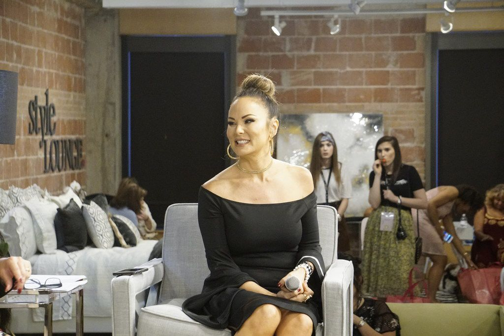 """Tiffany Hendra was one of multiple women on the """"The Beauty of Friendship"""" panel at StyleCon at the Fashion Industry Gallery in Dallas on Sept. 23, 2017."""
