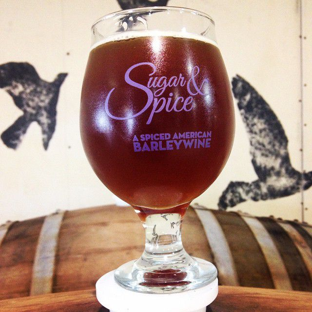 Martin House's Sugar & Spice, aged in whiskey barrels, becomes Christmas in July