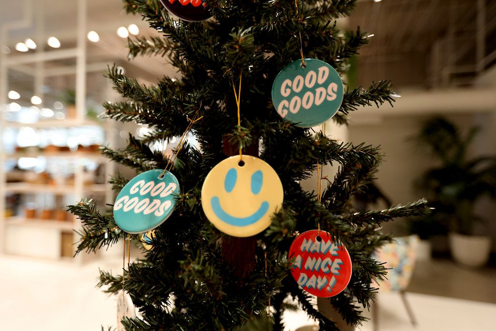 Detail of tree in Neighborhood Goods, a new concept store at Legacy West, in Plano on Nov. 16, 2018.