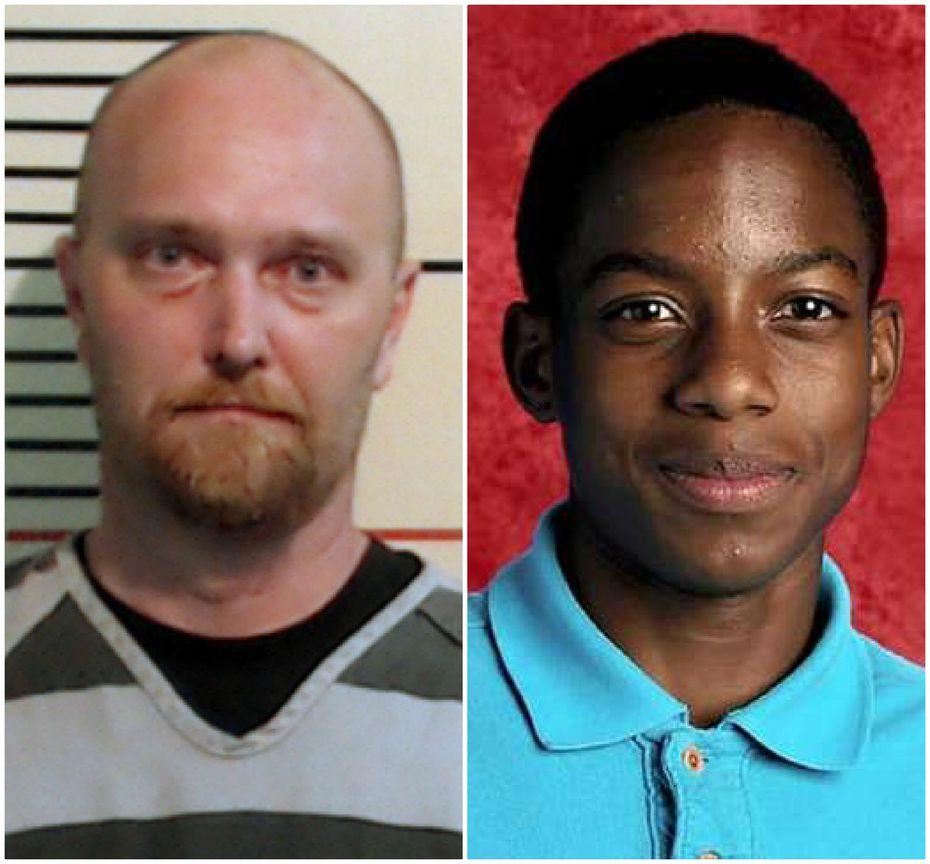Roy Oliver (left) killed Jordan Edwards.