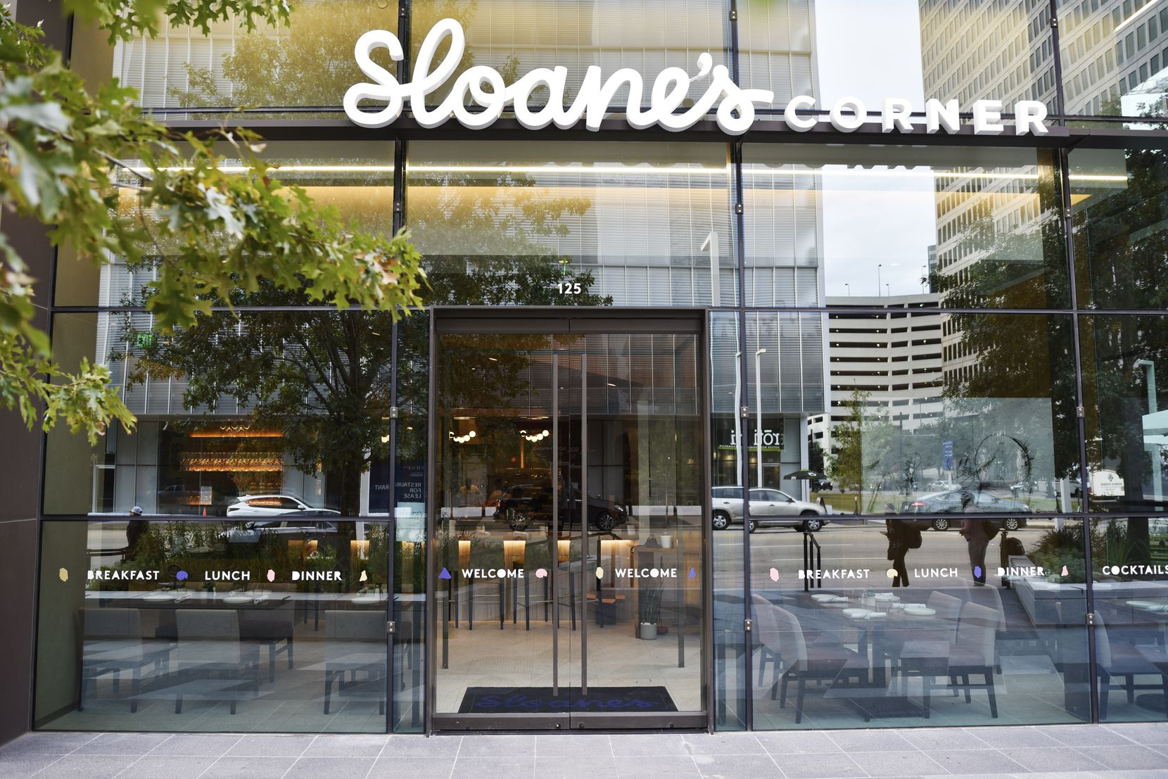 Sloane's Corner is expected to open Nov. 11, 2019.