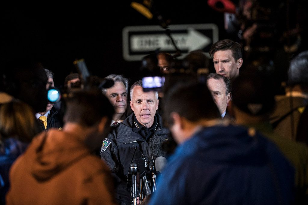 Interim Austin Police Chief Brian Manley confirmed the bomber's death early Wednesday.
