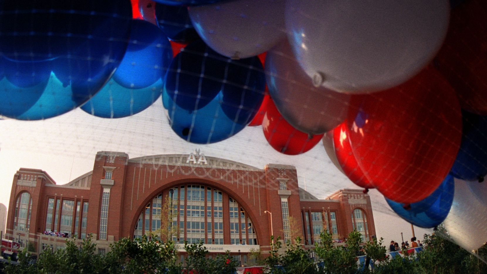 American Airlines Center in downtown Dallas is expected to offer room for social distancing.