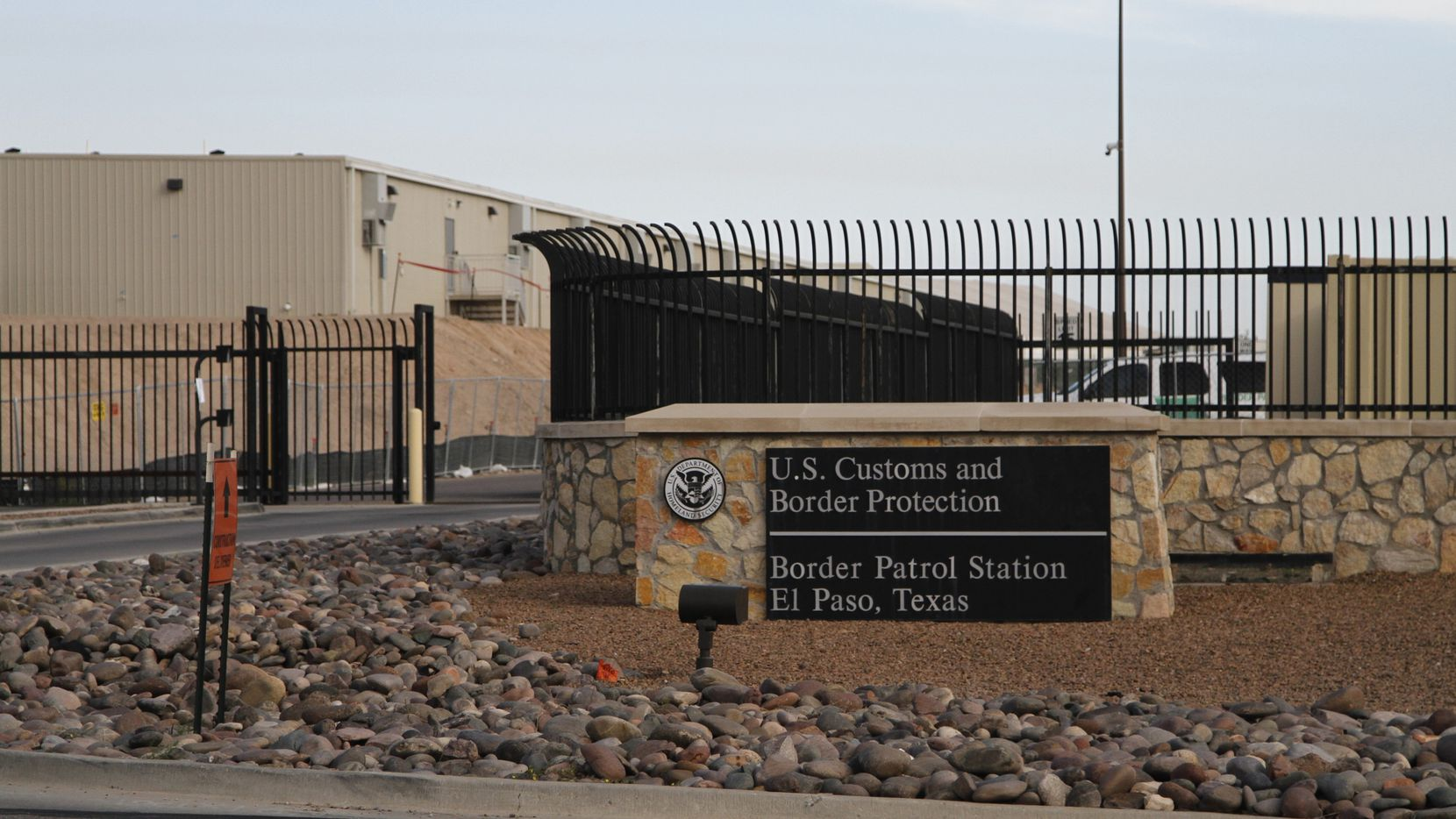 Some Dallas high school students were upset and scared when U.S. Customs and Border Protection officers were on campus for a job fair. The pictured Border Patrol Station One is located in El Paso.