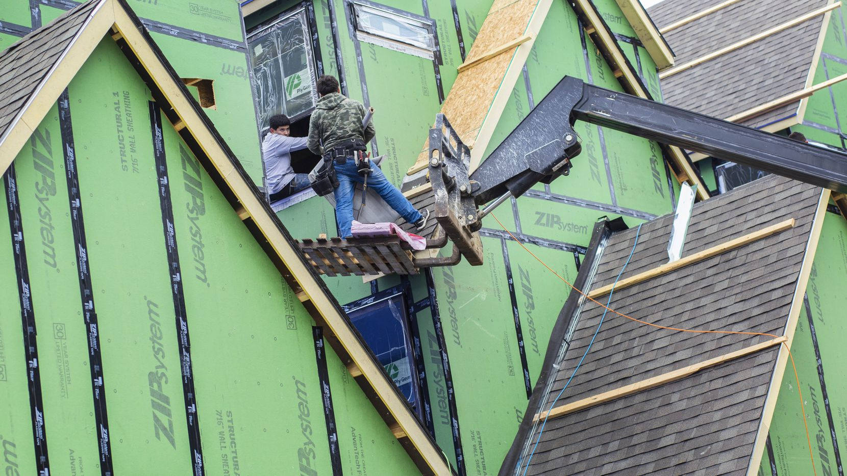 """Any given month we are short anywhere between 300,000 to 400,000 construction workers,"" said Robert Dietz, chief economist for the National Association of Home Builders."