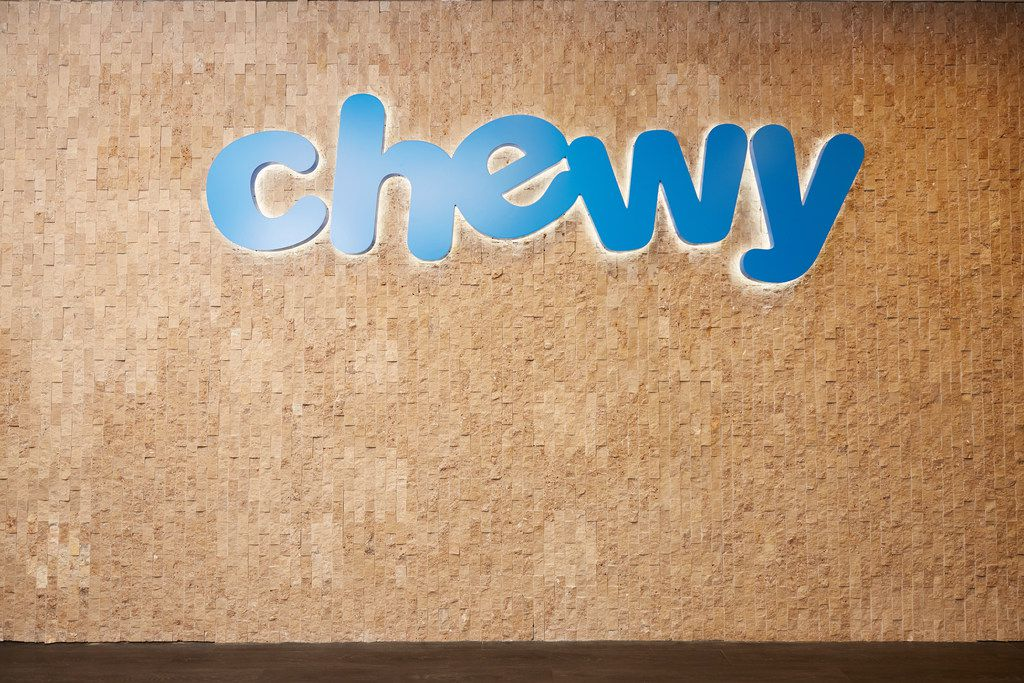 Florida-based Chewy.com opened its second customer service center in Dallas in the Infomart in May 2018.