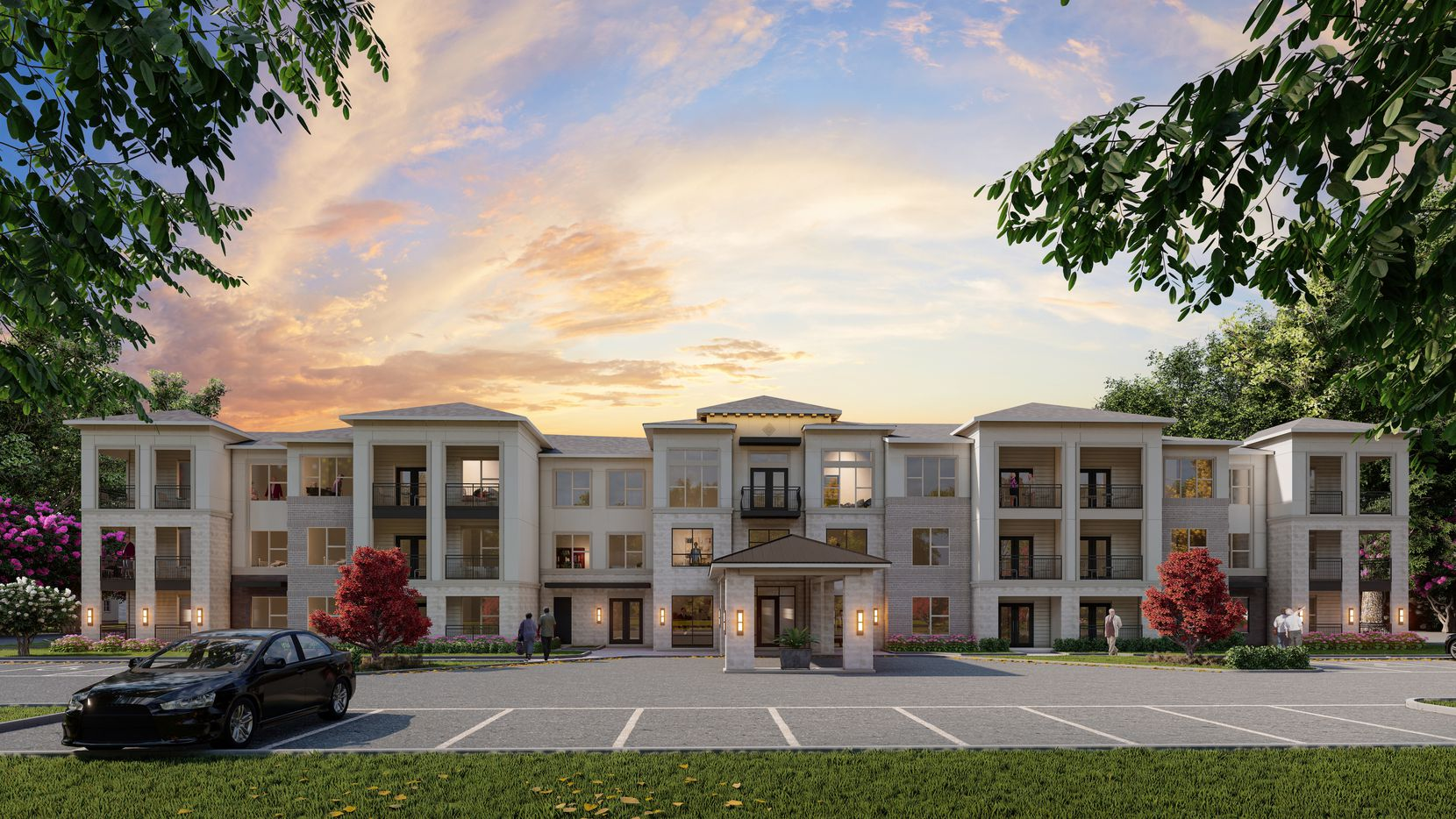 The Parmore Arcadia Trails will be a 200-unit senior apartment community in Balch Springs.