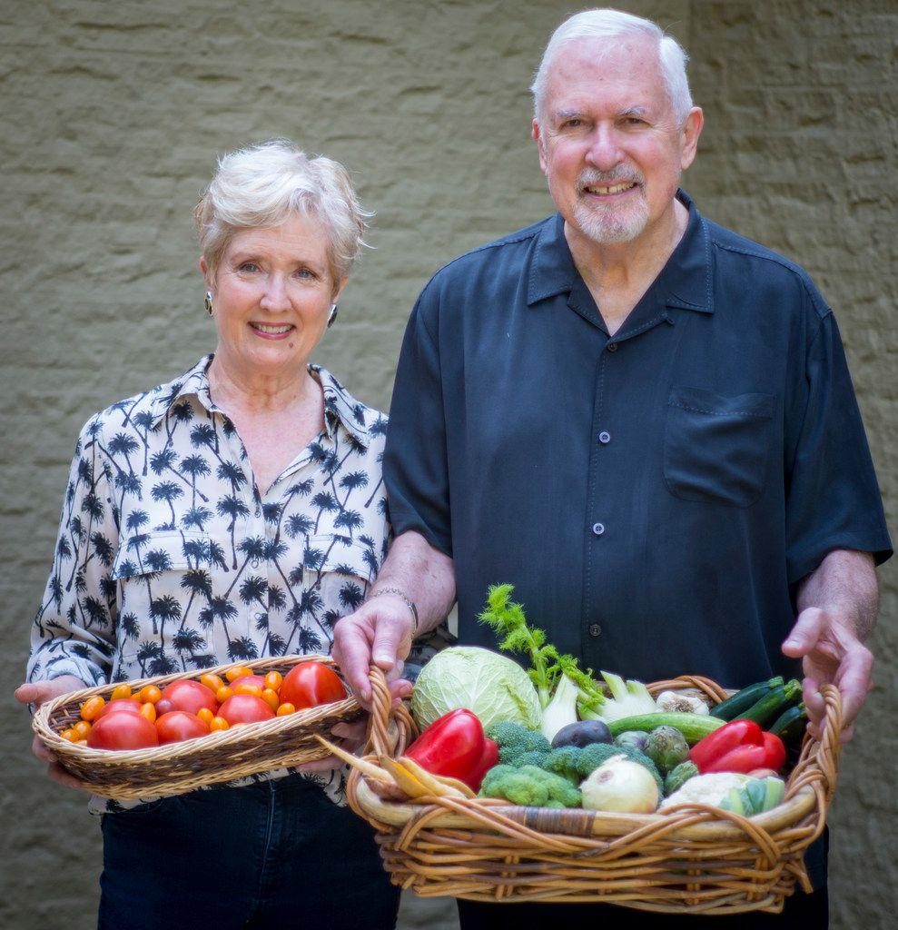 Becky Murphy and her husband Keith Marton have practiced intermittent fasting off and on for several years. They make sure to eat plenty of fresh vegetables to keep their weight in check.