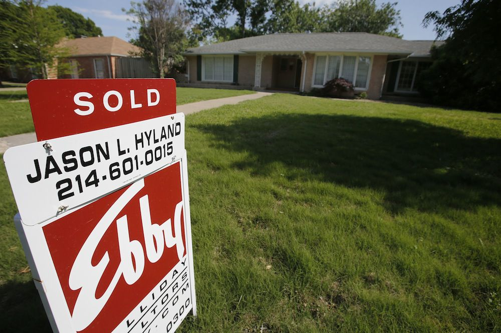Dallas-area home prices were 8.4% higher in December from a year earlier.