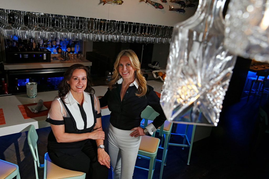 Tracy Rathbun (left) and Lynae Fearing are the owners of Lovers Seafood and Market in Dallas.