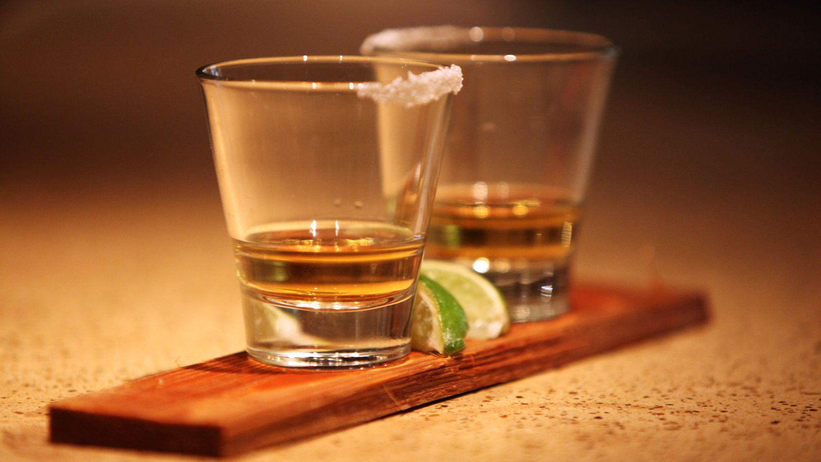 National Tequila Day is celebrated annually on July 24, with tequila shots pictured in this file photo from 2011.