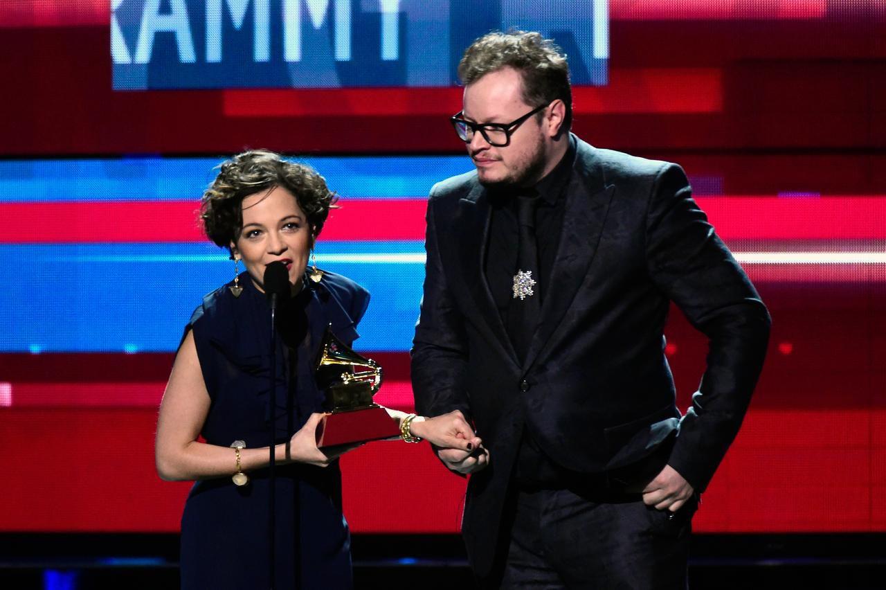 Natalia Lafourcade podría llevarse un nuevo gramófono dorado al ser ahora nominada un premio Grammy. (GETTY IMAGES/FRAZER HARRISON)