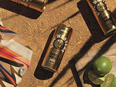 Epic Western ranch water is made with tequila and Mexican mineral water.
