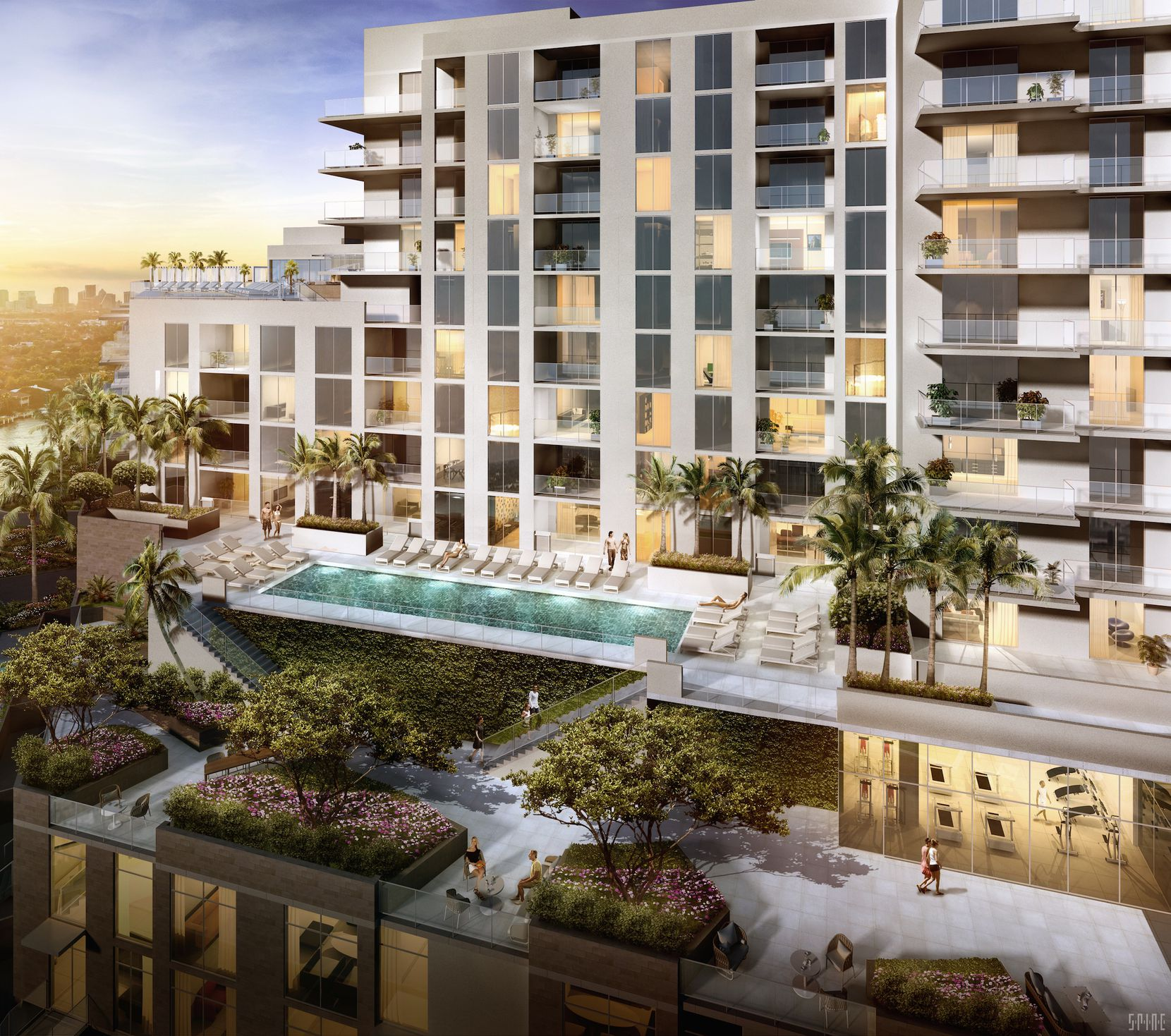 Hall Structured Finance funding the new  Gale Residences in Ft. Lauderdale.