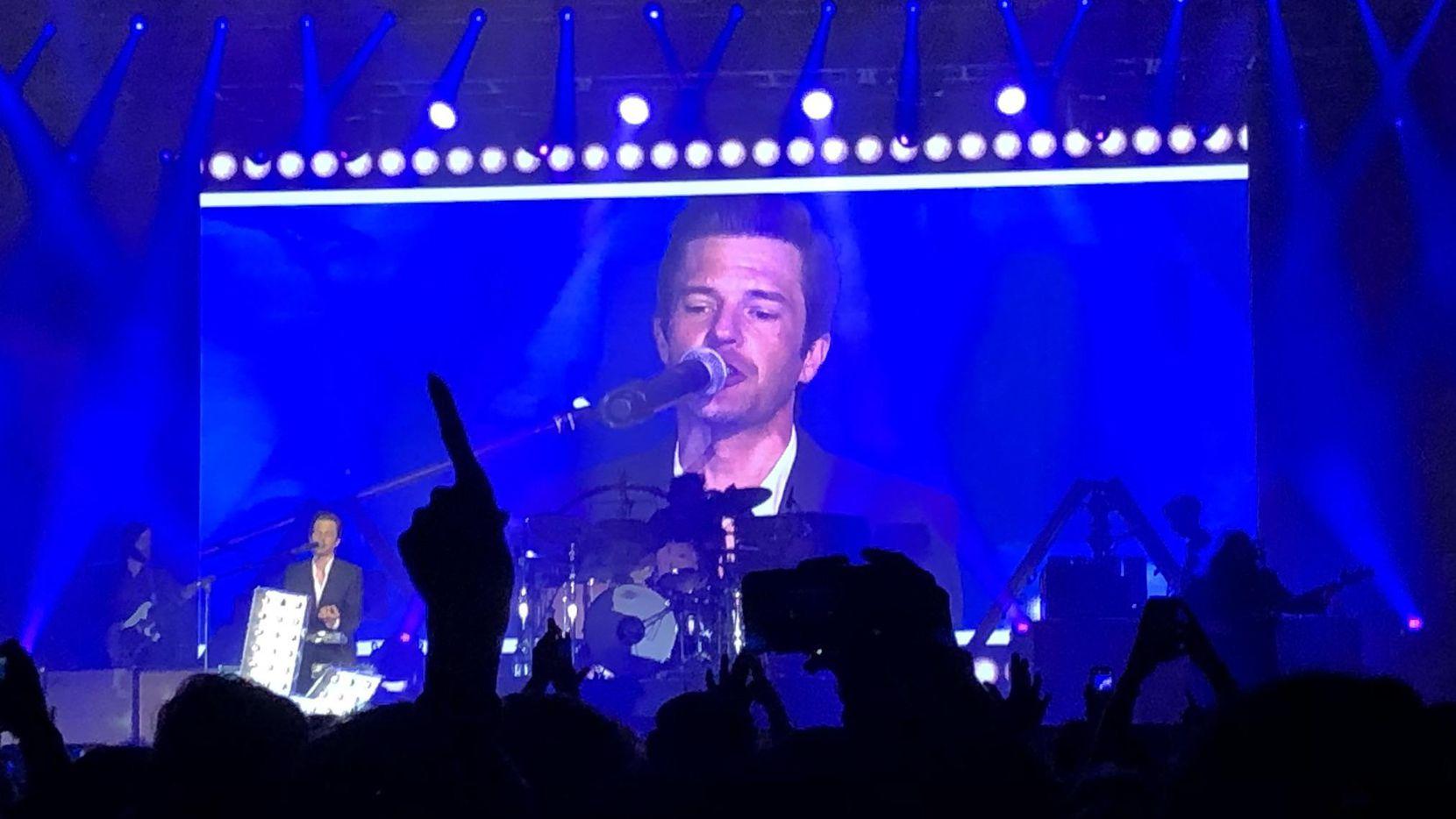 The Killers se presentó en un concierto anunciado de última hora el jueves en el Bomb Factory. CORTESÍA