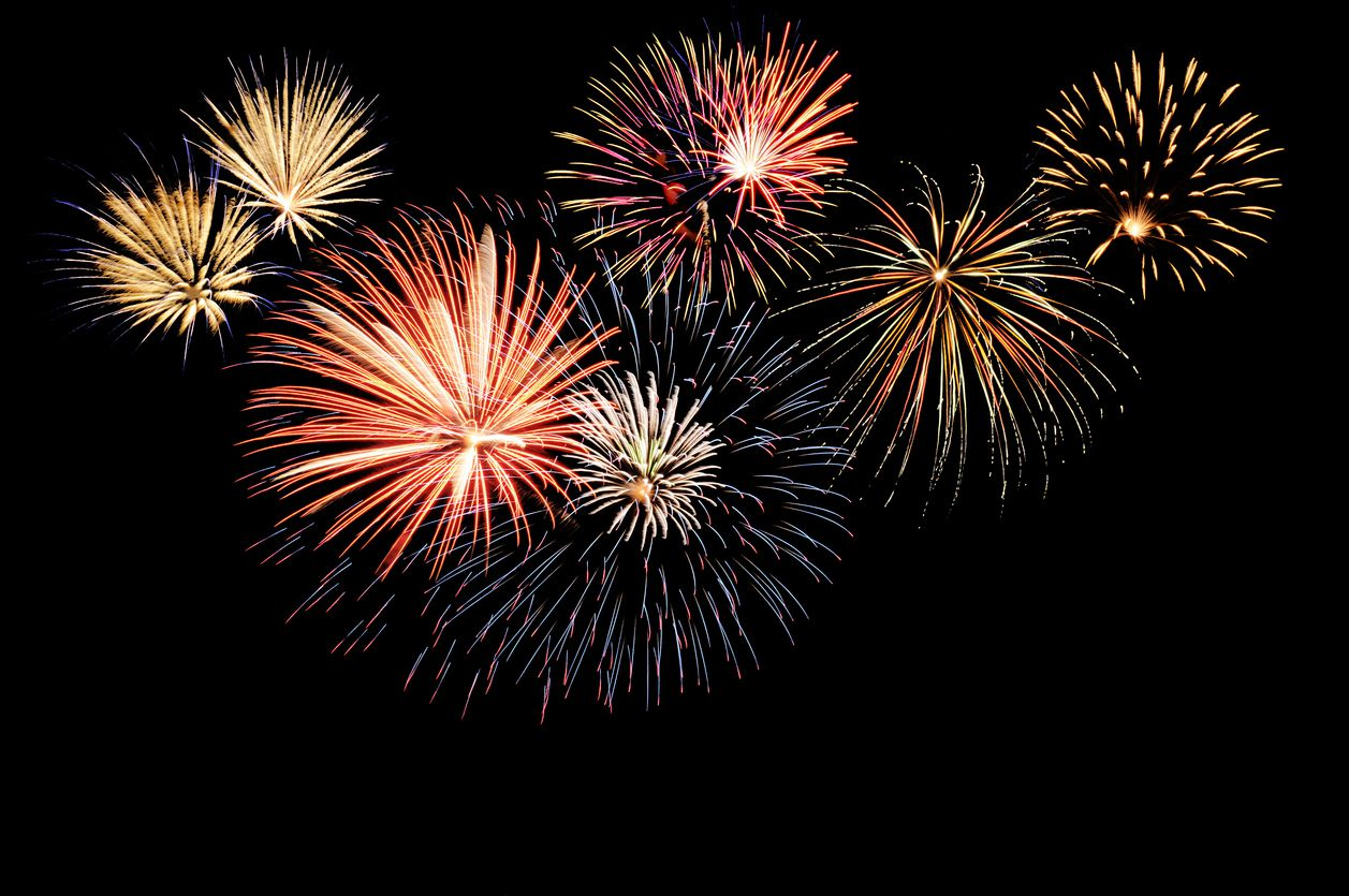 File photo of a fireworks display in  Plano.