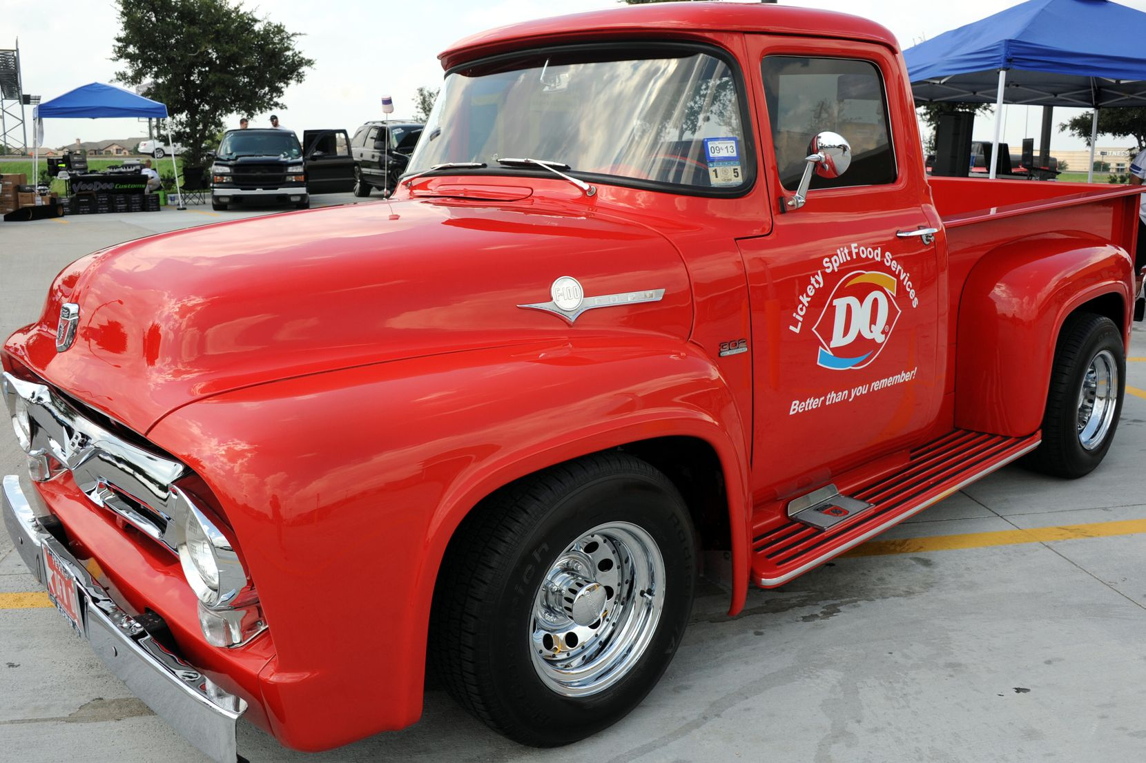 Franchisee Michael Clarke referred to this 1956 Ford truck as the Dairy Queen 'mascot' in an interview in 2014.