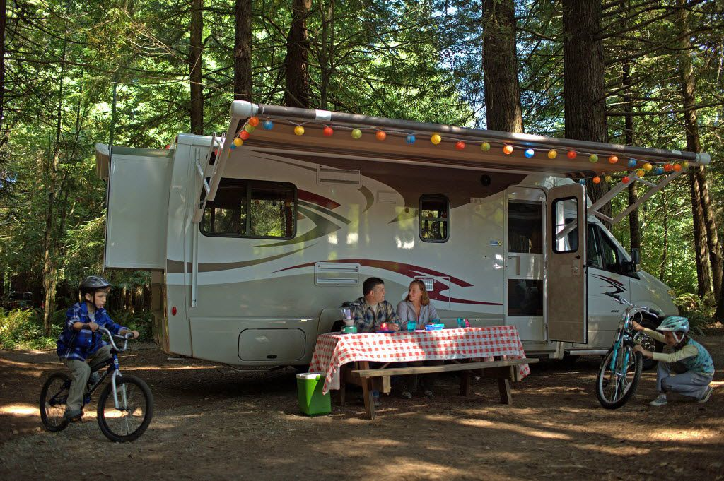 A vast assortment of recreational vehicles will be available for comparison shoppers at the Southwest RV Supershow. One of the best-selling models is dubbed a  toy hauler  because it includes room for bikes and other gear separate from the living space. 09142015xPUB